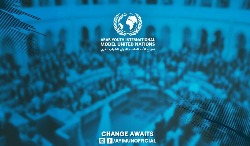 Ambassador at Arab Youth International Model United Nations for Egypt